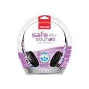 Maxell 190296 Stereo Over-Ear Safe Soundz Headphone, Purple