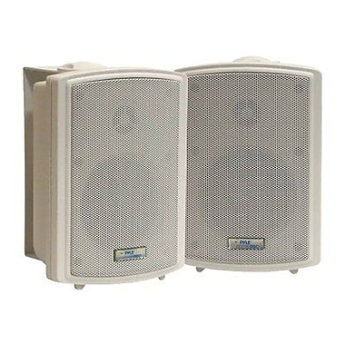 Pyleaudio® PD-WR3T Indoor/Outdoor Speaker Box With 70 V Transformer, White
