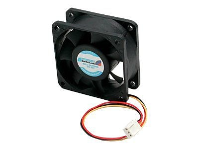 StarTech FAN6X25TX3H High Air Flow Dual Ball Bearing Computer Case Fan With TX3