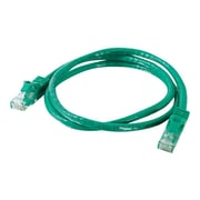 C2G® 03996 20' CAT6 Snagless Unshielded RJ-45 Male/Male Network Patch Cable, Green