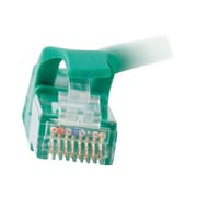 C2G ® 27176 50' RJ-45 Male/Male Cat6 Snagless Unshielded Ethernet Network Patch Cable, Green