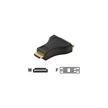STEREN 516-008 HDMI to DVI-D Adapter, Black