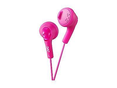 JVC Gumy HAF160P Earbud Headphone, Pink