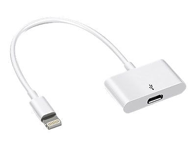 4XEM 4XMUSB8PIN USB to Proprietary Connector Data Transfer Cable, White