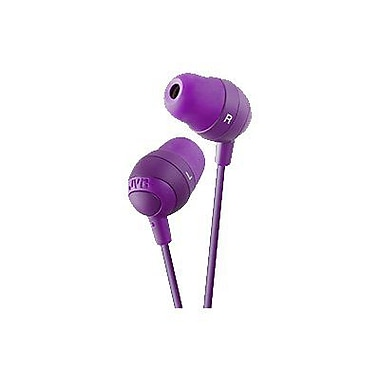 JVC Marshmallow HAFX32V In-Ear-canal Headphone, Violet