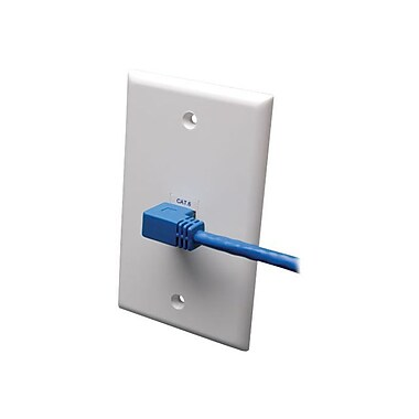 Tripp Lite N204-003-BL-RA 3' CAT-6 Patch Cable, Blue
