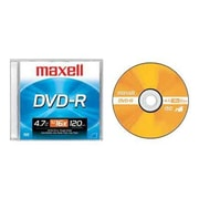 Maxell 638000 4.7 GB DVD-R Jewel Case