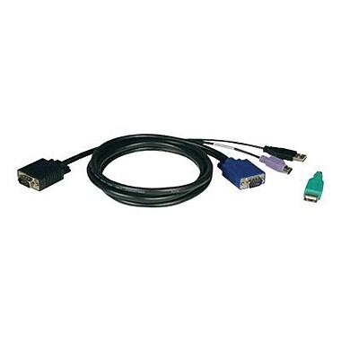 Tripp Lite P780-015 KVM Switch USB/PS2 Combo Cable Kit, 15'