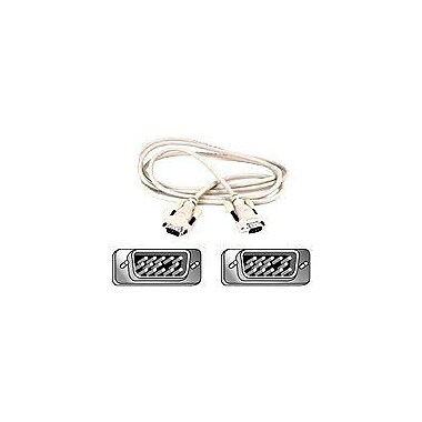 Belkin F2N028-06 6' VGA Cable, White