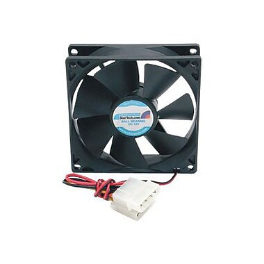 StarTech FANBOX92 Dual Ball Bearing Computer Case Fan With LP4 Connector