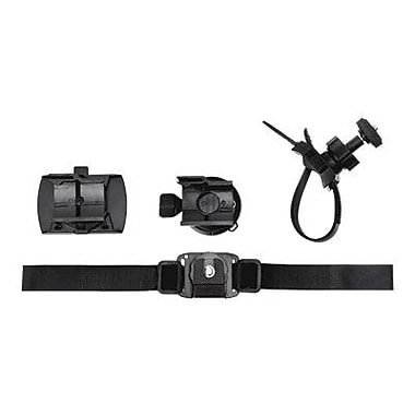 Midland XTAVP6 Accessory Value Pack 6, Goggle Mount, Vented Helmet Strap Mount