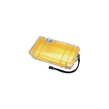 Pelican 1060-027-100 Micro Case for Small Accessories, Clear/Yellow