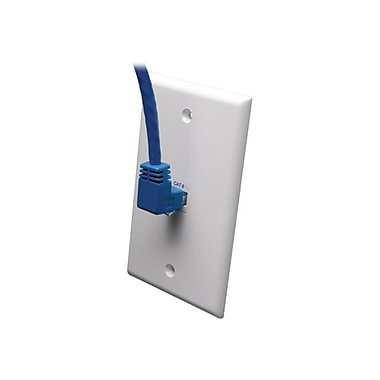 Tripp Lite N204-005-BL-UP 5' Angle to Straight Patch Cable, Blue