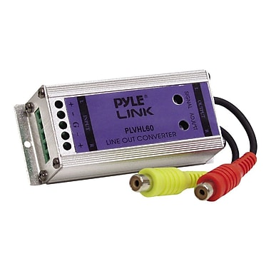 Pyle® PLVHL60 2 Channel Speaker to RCA Converter