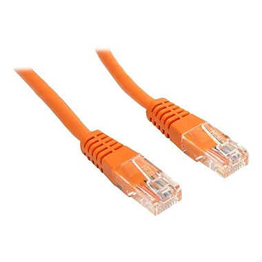 StarTech M45PATCH35OR 35' CAT-5e Network Patch Cable, Orange