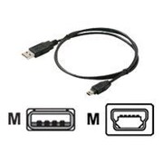 STEREN 3' USB 2.0 Male to Male Data Transfer Cable, Black