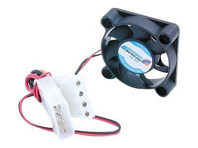 StarTech FAN4X1LP4 Dual Ball Bearing Computer Case Fan With LP4, 5000 RPM