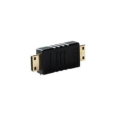 4XEM™ HDMI A Male To HDMI A Male Adapter, Black