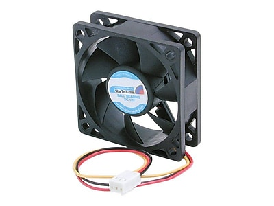 StarTech FAN6X2TX3 Ball Bearing Computer Case Fan With TX3 Connector, 4500 RPM