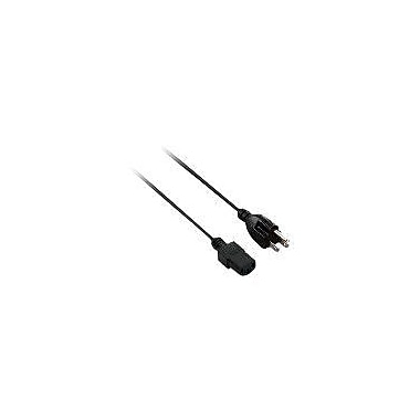V7 V7N2PCPWREXT-06F 6' Power Extension Cable, Black