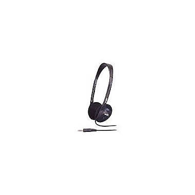 Cyber Acoustics ACM-62B Over-Ear Stereo Headphone, Black