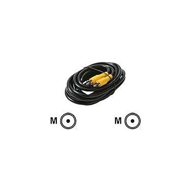 STEREN 206-015 25' RCA Coaxial Cable, Black