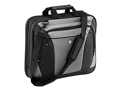 "Targus, TBT050US CityLite Laptop Case, For 16"" Laptops, Black/Gray"