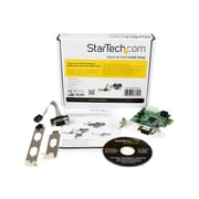 StarTech PEX2S952LP 2 Port Low Profile Native RS232 PCI-Express Serial Card