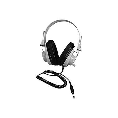 Califone® Ergoguys 2924AVPS Ultra Sturdy Stereo Headphone, Beige