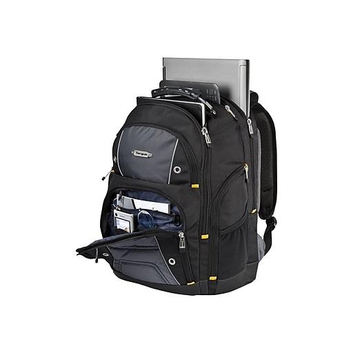 """Targus® TSB238US Drifter II Backpack For 16"""" Laptops, Black/Gray"""