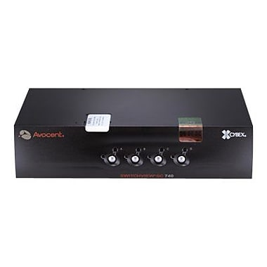 Avocent® Switchview™ SC740-001 KVM Switch, 4 Ports