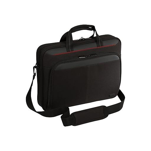 "Targus® Classic TCT027US 16"" Topload Laptop Case, Black"