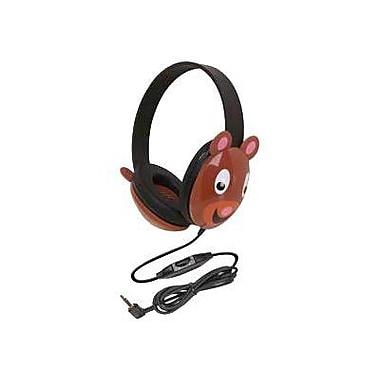 Califone Ergoguys 2810-BE Kids Stereo PC Headphone, Bear