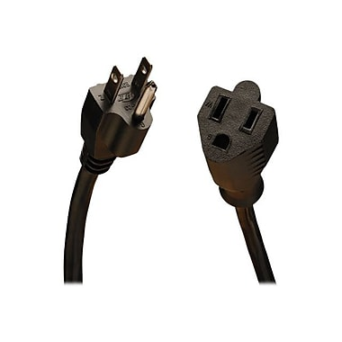 Tripp Lite SJT Power Extension Cord, 16 AWG, 15 ft (L)