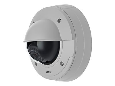 Axis Communications 0482-001 Wired Dome Network Camera, White