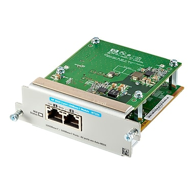 HP® J9732A Gigabit Ethernet Expansion Module, 2 Ports
