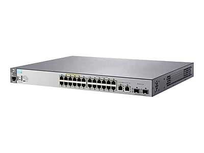 HP® 2530 Series 24 Ports Managed PoE Fast/Gigabit Ethernet Switch
