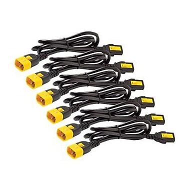 APC® AP8702S-NA 0.6 m Power Cord Kit, Black