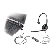 Plantronics  Blackwire C315-M Over-the-Head Mono Headset with Microphone for Microsoft Lync, Black
