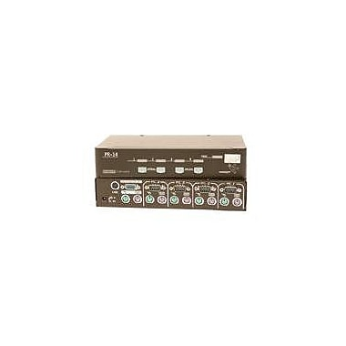 ConnectPro™ PR-14-KIT Master-IT PRO KVM Switch, 4 Ports
