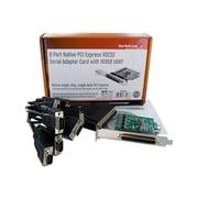 StarTech PEX8S952 8 Port PCI Standard Profile Serial Adapter Card