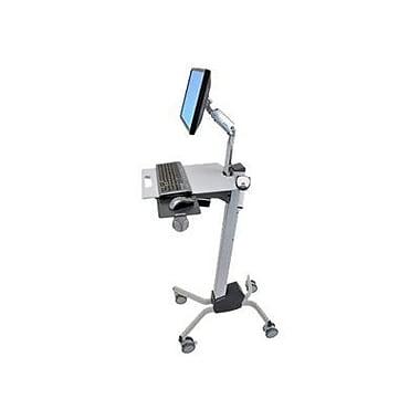 Ergotron® Neo-Flex® LCD Cart, Two-Tone Gray