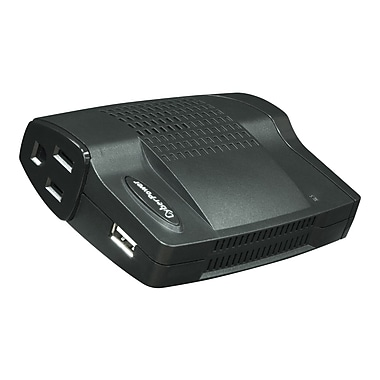 Cyberpower® 160 W Mobile Power Inverter, 12 VDC Input, 120 VAC Output, 2 Outlets