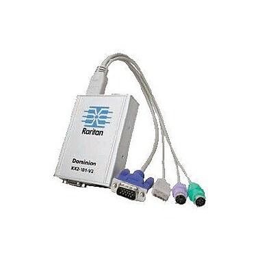 Raritan® DKX2-101-V2 KVM Over IP Switch, 3 Ports