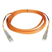 Tripp Lite 3' Duplex MMF LCM to LCM Riser Patch Cable, Orange