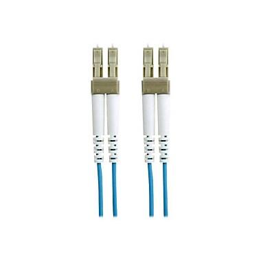 Belkin™ 16.4' Fiber Optic LC/LC Duplex Patch Cable, Aqua