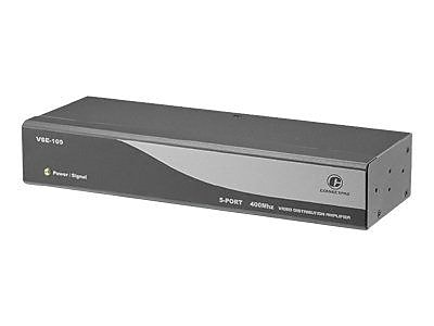 Connectpro VSE-105A 5-Port Audio/Video Splitting Distribution Amplifier