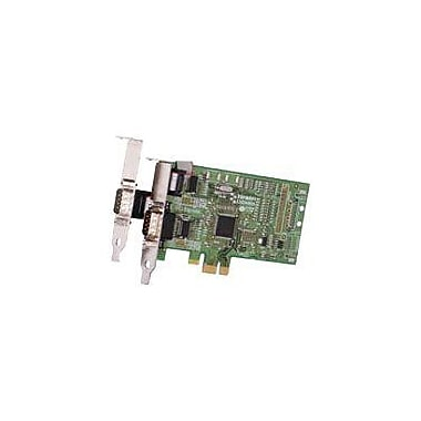 BRAINBOXES 2 Port PX-101 PCI Express Serial Adapter Low Profile