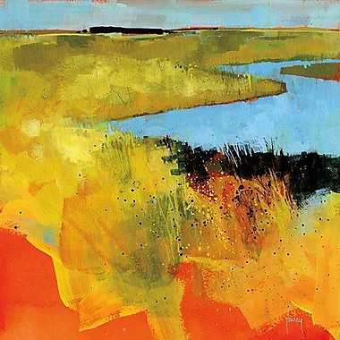 Printfinders Backwaters by Paul Bailey Painting Print on Canvas; 16'' x 16''