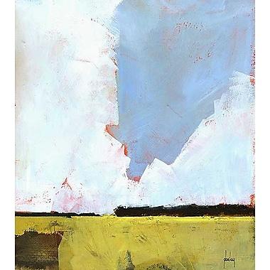 Printfinders Barley Field by Paul Bailey Painting Print on Canvas; 18'' x 16''
